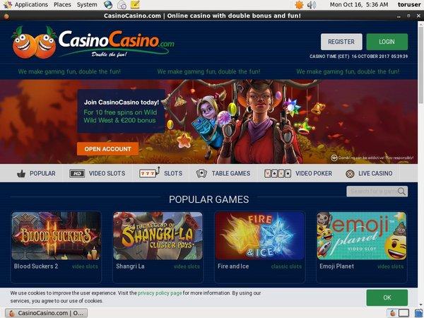 Casino Casino Wagering