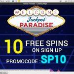 Jackpot Paradise Mastercard