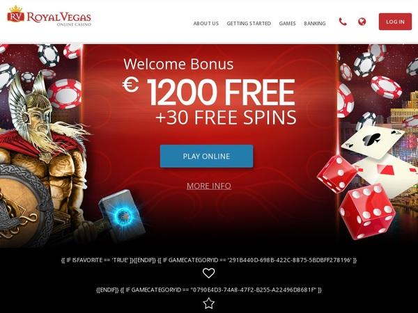 Royal Vegas Casino Flexepin