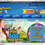 Freespins Lucky Touch Bingo