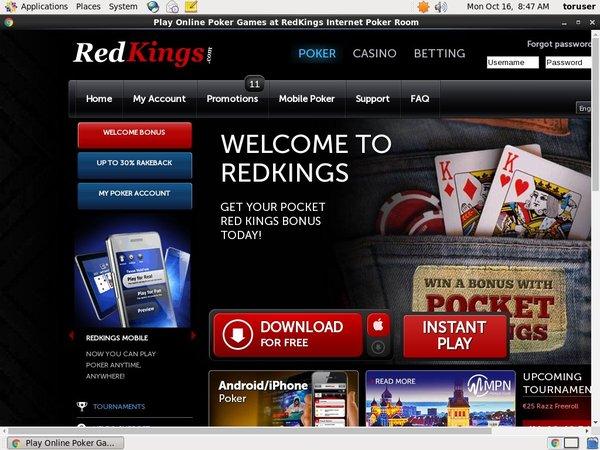Redkings Betting App