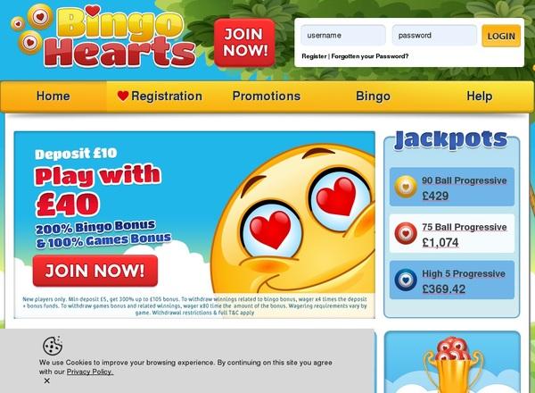 Bingo Hearts Download