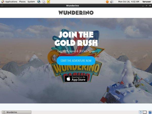Wunderino Withdrawal