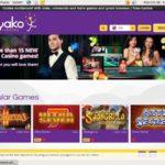Yako Casino 모바일 카지노