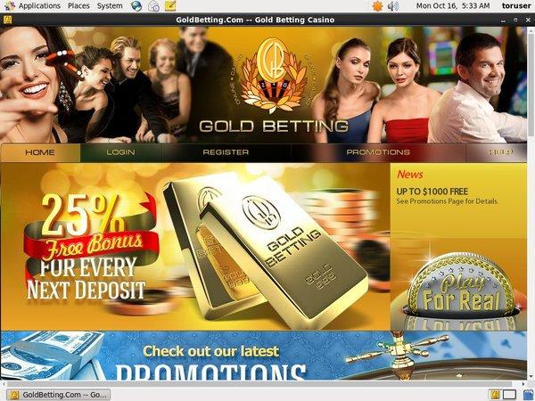 Gold Betting Get App