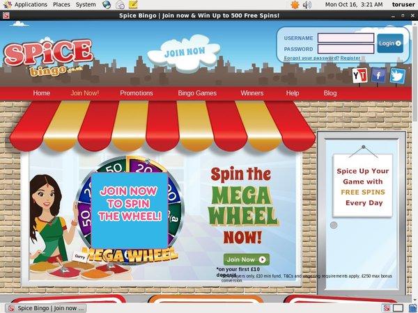Spicebingo Free Download