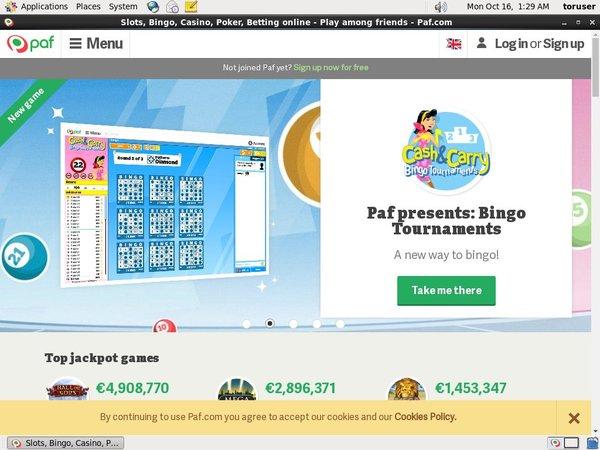 Paf Bet Online