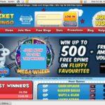 Rocket Bingo Registration Page